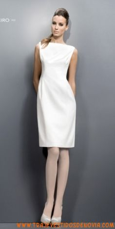 1032  Vestido de Novia de Saten