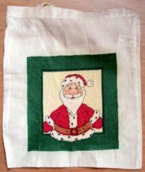 Baumwolltasche-Weihnachtsmann---Nikolaus