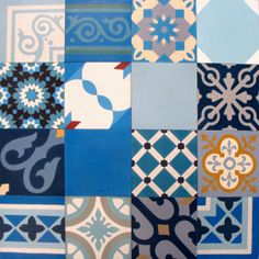 Cement tiles - Patchwork