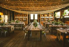 Our globe string lights are the perfect addition to your wedding reception. Find them on our site under the String Lights & Bulbs category. Patio String Lights, Globe String Lights, Rustic Garden Wedding, Rustic Gardens, Hanging Paper Lanterns, Hanging Lights, Penguin Wedding, Table Set Up, Party Lights