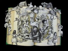 My newest altered book / book sculpture: Little House in the Big Woods. Available on Etsy.com.  https://www.etsy.com/listing/101707044/little-house-in-the-big-woods-one-of-a#    VISIT MY BLOG: http://mybountifulideas.blogspot.com/