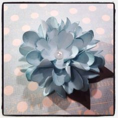 #punchitup Flowers made with stampin up punches