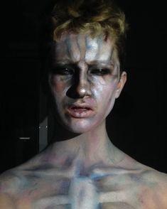 Amityville: The Awakening, 'james' possessed body paint