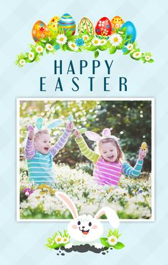 Holiday Cards  Happy Easter Day Cards  Amolink Templates