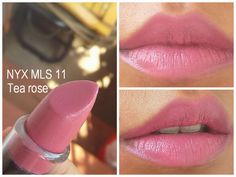 NYX matte lipstick - 11 Tea rose