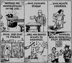 Tobacco cartoons