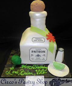 Patron Cake Fifis Sweet Stuff Simply Desserts - Patron birthday cake
