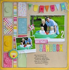 Birthday Sandbox ~Pebbles, Inc.~ - Two Peas in a Bucket