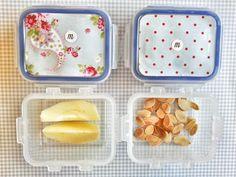 día6 En casa: leche con copos de avena En la guarde: manzana y almendra fileteada tostada