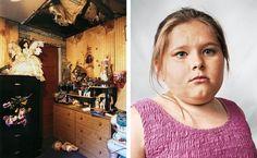 Portraits of Children Around the World and Where They Sleep - Alyssa, Harlan County, USA