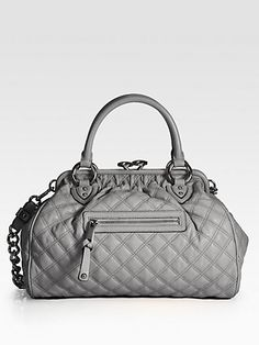 Marc Jacobs - Classic Quilted Leather Stam Bag - Saks.com