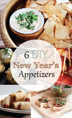 Six New Year's Appetizers! | My Life, My Love - Kelsie Millet #diy #appetizers #newyears