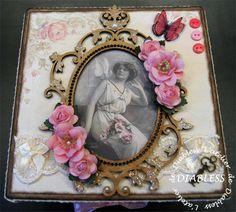 Boîte romantique Shabby