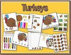 Turkey Printable Pack