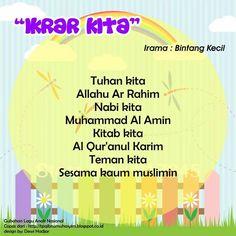 Ikrar Kita (original song Bintang Kecil) Islam For Kids, Kids Songs, Muslim, Islamic, Worksheets, Chart, Map, Education, Songs For Children