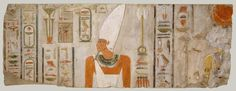 (Period 1 8000 - 2000 BC) **Information** ca 2010 -2000 BC Egypt  Mentuhotep II **Location** Modern Day Middle Egypt **Symbols** Pictograph **Content** Material Owned **Structure** **Material** **Context** Relief of Nebhepetre Mentuhotep II and the Goddess Hathor