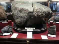 Science blogger Jane, of Pad39a, presents highlights of the Vienna Museum of Natural History meteorite collection