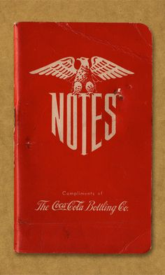 Notes. Compliments of The Coca-Cola Bottling Co.