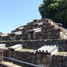 """日本に二つしかないピラミッド型史跡""""頭塔""""、奈良市"""