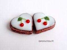 Genyouchka.M: Fruitcakes in fimo