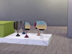 ung999's Bathroom Aloe - Mirror Table (Decor)