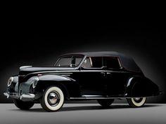 1939 Lincoln-Zephyr Convertible Sedan