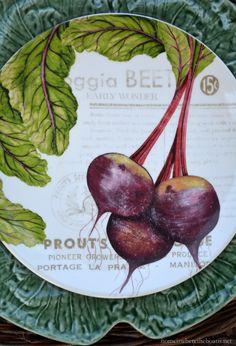 In the Potting Shed: Jardin de Legumes | homeiswheretheboatis.net #tablescape #garden