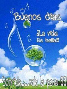Good Morning Coffee, Good Afternoon, Good Morning Good Night, Good Morning Quotes, Spanish Greetings, Morning Blessings, Spanish Quotes, Say Hello, Qoutes