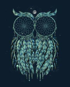 An owl of dreams