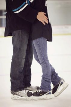 Try ice skating. It's healthy and funny enough! #date #dating #ideas