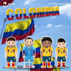 Go Colombia! #copaAperica2019 Escudo River Plate, Virgil Van Dijk, Colombia South America, Colombia Travel, James Rodriguez, Disney Facts, Fifa World Cup, Goal, Joker