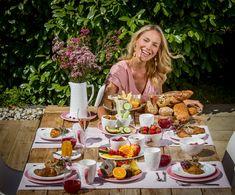 Den Sommer genießen - Kathi Wörndl zeigt euch mit dem neuen Design Variation Rosa wie ihr den perfekten Tisch decken könnt!
