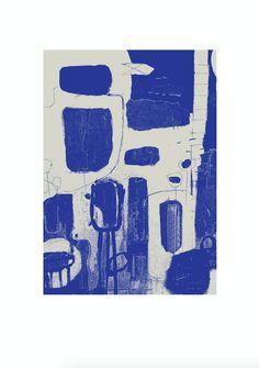 Trykt på matpapir i høj kvalitetEt kunsttryk i begrænset udgave, lavet i kun 75 stk.–'Jeg er en københavnsbaseret grafisk designer og kunstner, der nyder godt afeksperimentere med former, farver og teksturer. Min måde at udtrykke sig påvarierer fra grafisk enkelhed til en mere flerlags og taktil tilgang.Mit arbejde inkluderer trykte samlinger, kunsttryk i begrænset udgave, malerier ogunikke genstande '.MILLE HENRIKSEN Copenhagen, Objects, Graphic Design, Shapes, Texture, Art Prints, Sweden, Artist, Blue