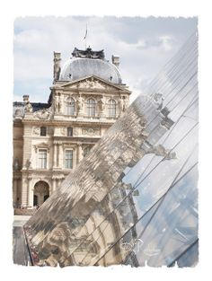 Louvre reflections  Fine Art  Photography 8x10 by DailyReflections, $24.00