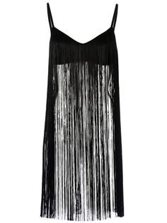 A fringed top such as this one by Maison Martin Margiela is essential to complete a Coachella wardrobe