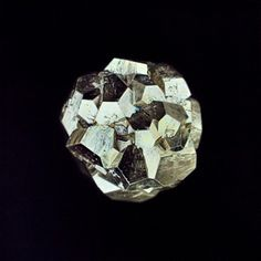 The Art of Polyhedra: Carly Waito, Pyrite Asteroid, 2013