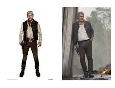 By: Benjamin Hart One of the most iconic elements of any Star Wars film are its costumes. Star Wars: The Force Awakens introduced a plet. Han Solo And Chewbacca, Star Wars Han Solo, Star Wars Film, Michael Kaplan, Episode Vii, The Costumer, Star Wars Episodes, New Chapter, Concept Art