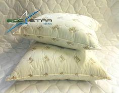 Новинки в ассортименте подушек серии EcoStar.    Мягкие подарки для комфортного сна.  Подушки из серии EcoStar с чехлом из поликоттонаобеспечат оптимальную атмосферу во время сна.  Наполнитель нового поколения AMICOR™ создаст эффективную защиту против аллергии. Доступная цена при отличном качестве (от 390 руб.). Размеры 50х70см, 70х70см.  Приятных Вам покупок. Текстильная компания ЭКОЛАН.  Подробнее…