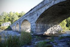 The Five Arc Bridge of Packenham Pakenham, Ontario, is a small town just west and north of Ottawa. In 1901, the engineering firm of O'Toole and Keating built the only five arch stone bridge of its kind in all of North America.