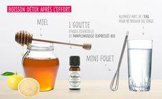 Retrouvez du tonus avec cette boisson détox à consommer directement après l'effort musculaire.