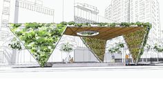 Studio a+i Reimagines AIDS Memorial Park Design as a Fresh Green Triangular…