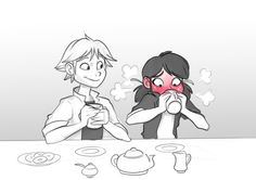 Would love it if Adrien and Marinette hung out more-they were adorable in the Gamer episode ^_^