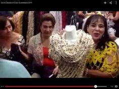 Cómo tejer una BUFANDA - Prendas rápidas - Tejiendo con Laura Cepeda - YouTube