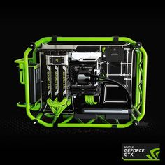 Here's your daily dose of green, courtesy of our UK office. #nvidia #gaming #pc