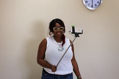 PRODUCT REVIEW: My ReTrak Selfie Stick & Contest - Live Life in Style - Houston Fashion Blogger