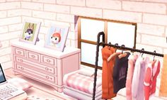 Need Friends, New Leaf, Animal Crossing, Vanity, Animals, Furniture, Home Decor, Dressing Tables, Powder Room