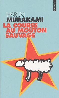 Haruki Murakami A Wild Sheep Chase French edition book cover