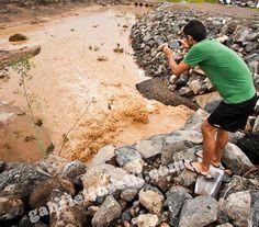 Las lluvias y el mal estado de la red de aguas provoca cortes en Fuerteventura,El CAAF trabaja para reestablecer el suministro tras la rotura.