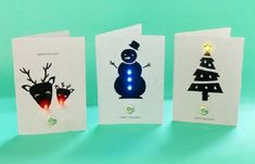 Make Your Own LED Christmas Cards