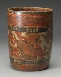 Mayan Vase (c.800-900 A.D.)